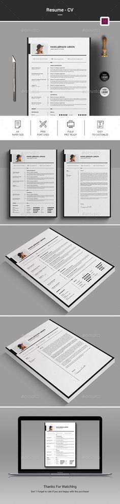 Resume Modern resume template, Modern resume and Professional - professional resume template download