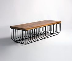 Bancos | Asientos | Wired Bench | Phase Design | Reza Feiz. Check It Out ·  Cool Coffee TablesWire ...