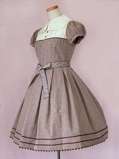 Victorian Maiden Sailor Doll OP (brown)