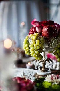 Ispirazione verde menta e rosso melograno | Mint and Pomegranate | http://theproposalwedding.blogspot.it/