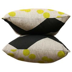 The Print Society's hand screen printed Colour Collector cushions