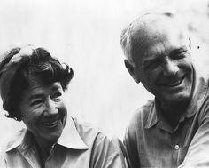 Charles and Anne Morrow Lindbergh Married in 1929-1972/. 45 years