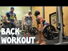 Massive Back Workout With Dana And Rob Bailey
