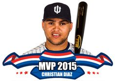 Curaçao Neptunus-speler Christian Diaz is tijdens de verkiezing van de Honkbalsite Awards gekozen tot Meest Waardevolle Speler van het seizoen 2015! Lees meer via http://www.honkbalsite.com/honkbalsite-awards/uitslag-2015. #nlhonkbal