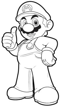 Mario Malvorlagen Coloring Pages Book Art Adult Colouring