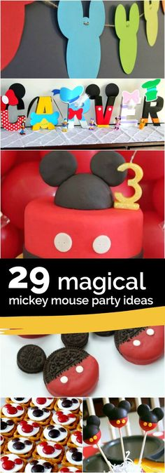 29 Magical Mickey Mouse Party Ideas