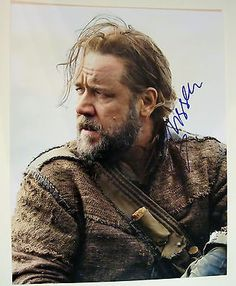 Russell Crowe Noah Autographed Signed 11X14 COA Gladiator Rare Huge Photo