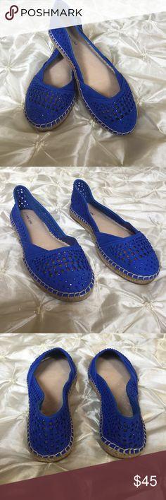 Spotted while shopping on Poshmark: Gianni Bini Royal Blue Flats! #poshmark #fashion #shopping #style #Gianni Bini #Shoes