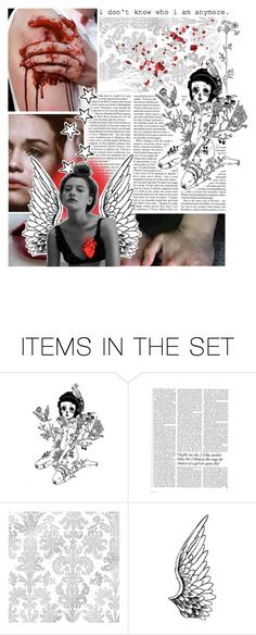 """""""Don't look back in anger"""" by claradb ❤ liked on Polyvore featuring art"""