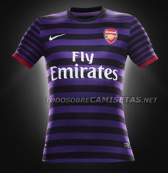 OFFICIAL: Arsenal Nike Away Kit 2012/2013