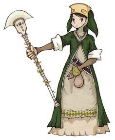 Human Illusionist - Characters & Art - Final Fantasy Tactics Advance