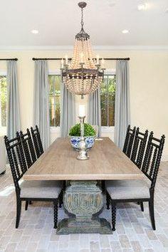 Newport Coast - Beach Style - Dining Room - - Blackband Design.