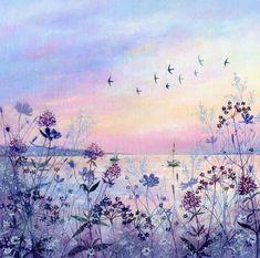 Suffolk Original Paintings For Sale Watercolor Projects, Watercolor Art, Watercolor Fashion, Watercolor Landscape, Drawing Scenery, Verge, Original Paintings For Sale, Mini Canvas Art, Cute Art