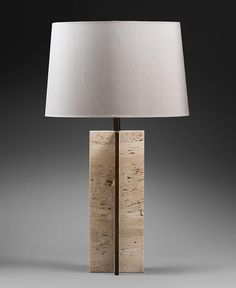 Otto table lamp alexander lamont furniture produkt pinterest extra by chahanminassian chahandesign in bronze and travertine unique aloadofball Image collections