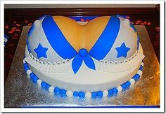 DALLAS COWBOY CHEERLEADER CAKE. LOL: STEP BY STEP