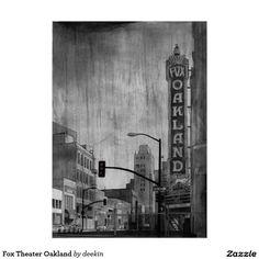 Fox Theater Oakland Poster