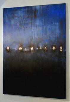 CHRISTIAN HETZEL: blue composition