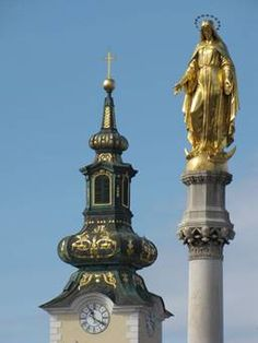 Madonna Statue Kaptol, Zagreb / by Anton Dominick Ritter von Fernkorn