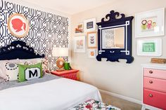 Preppy Kids Room