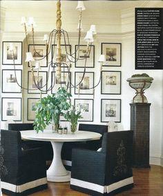 Atlanta Homes and Dining via Design Lily
