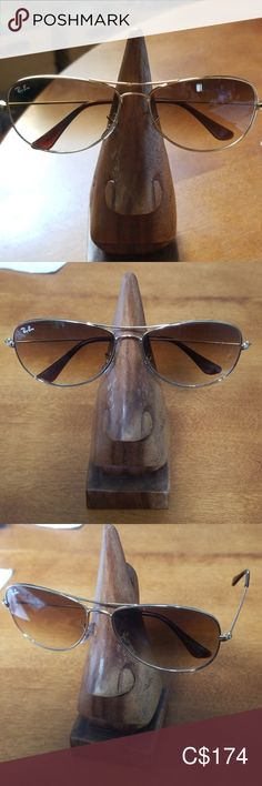 Shop Women's Ray-Ban Gold Brown size Sunglasses at a discounted price at Poshmark. Sunglasses Accessories, Women Accessories, Ray Ban Gold, Sun Rays, Ray Bans, Shop My, Brown, Closet, Things To Sell