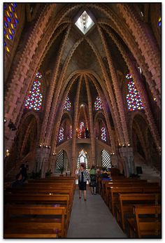 Interior del Santuari de Montserrat, Montferri, Alt Camp,Catalonia