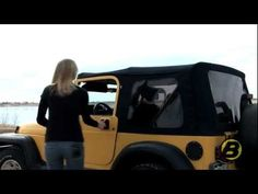 Using the soft top on your Jeep Wrangler TJ - YouTube