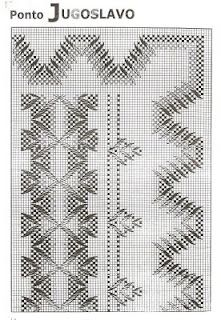 artesanato luso-brasileiro: PONTO JUGOSLAVO Swedish Embroidery, Hardanger Embroidery, Embroidery Stitches, Embroidery Patterns, Broderie Bargello, Huck Towels, Swedish Weaving Patterns, Monks Cloth, Weaving Designs