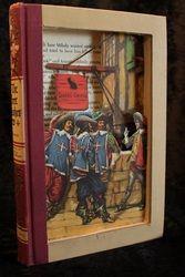 """The Three Musketeers"" book sculpture (artist: Jodi Harvey-Brown)"
