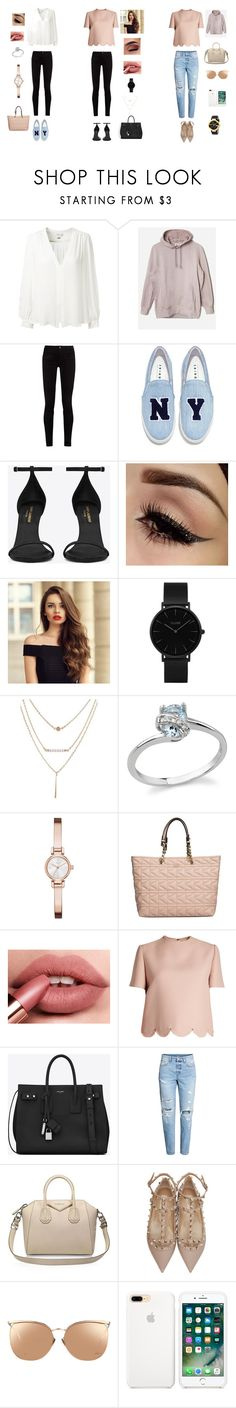 """consultoria de imagem"" by thaismp on Polyvore featuring moda, Erin Fetherston, adidas Originals, Gucci, Joshua's, Yves Saint Laurent, CLUSE, DKNY, Karl Lagerfeld e Valentino"