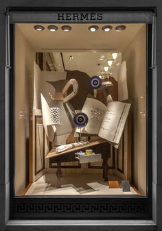 Kikiworld.nl - Projects | Hermes window January 2015 | Left window