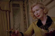 Gloria Mott (Frances Conroy), American Horror Story: Freak Show Moira O Hara, Frances Conroy, Ahs Characters, American Horror Story Freak, Red Wedding, Fandoms, Actors, Tv, Celebrities