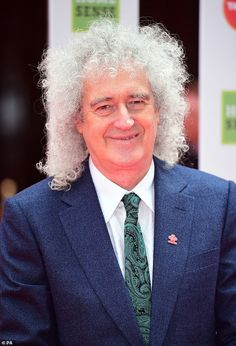Queen Brian May, Spitting Image, Queen Band, Two Year Olds, Poodle, Twins, Portrait, Mail Online, Grey