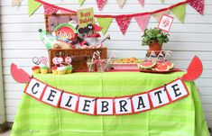 Creative Juice: {GUEST POST} watermelon picnic party