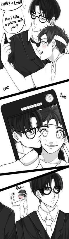 hipster eren and levi by scribblerb levi and eren