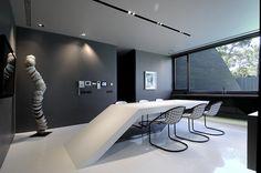 Concrete House II, Pozuelo de Alorcón, Spain/ A-cero Architects