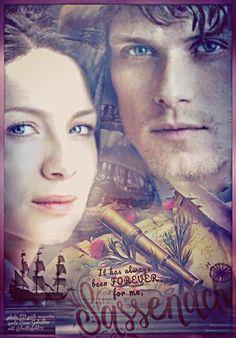 (20) Twitter Outlander Fan Art, Outlander Quotes, Outlander Book Series, Sam Heughan Outlander, Claire Fraser, Jamie And Claire, Jamie Fraser, Outlander Costumes, Star Wars