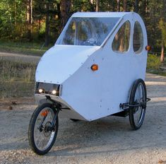 'BentRider Online» Blog Archive » Rainshadow Velomobile