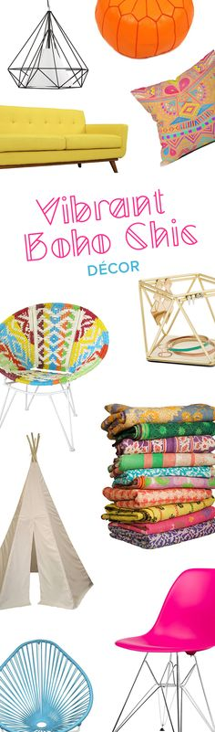 Vibrant Boho Furniture & Décor   Up to 60% Off at dotandbo.com