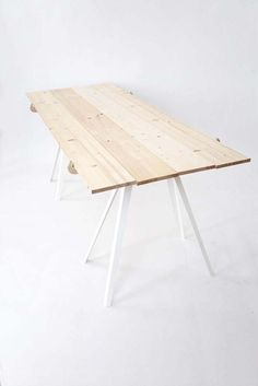 Home Design and Interior Design Gallery of Inspirational Toro Minimalist Table Design