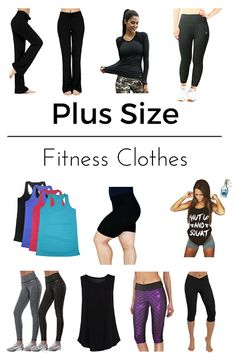 Plus size fitness clothes for women on Amazon