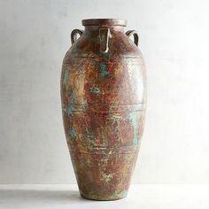 Terracotta Floor Vase   Pier 1 Imports