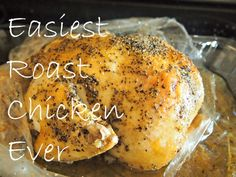 Exactly what I did the very first time I cooked a whole chicken. It was ridiculously easy...what took me so long to try it???