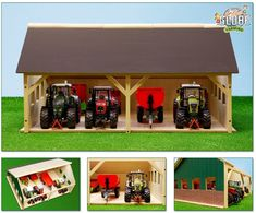Details about Wooden Model Toy Farm & Stable Buildings - Kids Globe Wood Farmyard Toys - - Wood Projects For Kids, Farm Projects, Woodworking Projects For Kids, Kids Wood, Woodworking Jobs, Woodworking Patterns, Wooden Toy Farm, Wooden Diy, Kids Globe
