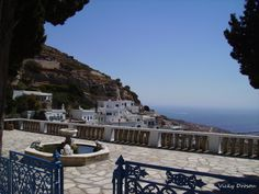 Τήνος - Καρδιανή Greece, Landscapes, Patio, Island, Mansions, House Styles, Colors, Places, Outdoor Decor