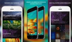 Tổng hợp một số ứng dụng thay đổi hình nền dành cho thiết bị iOS