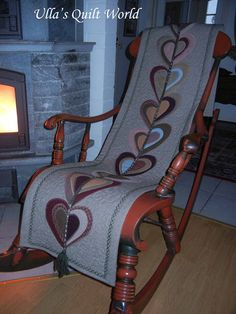 Rocking chair quilt