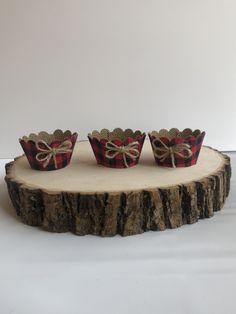 Burlap Cupcakes, Cupcake Wrappers, Decorative Bowls, Home Decor, Homemade Home Decor, Decoration Home, Interior Decorating