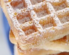 Gaufres de bruxelles inratables avec levure Brussels Waffles with yeast