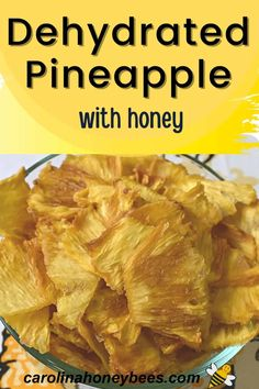 Dried Pineapple, Pineapple Slices, Eating Raw, Healthy Eating, Cooking With Honey, Healthy Sweet Treats, Honey Recipes, Raw Honey